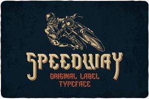 Speedway Typeface