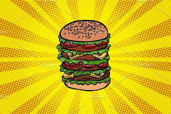Big Burger Fast Food