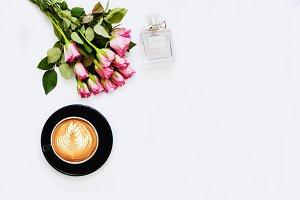 Perfume&Roses Styled Photo