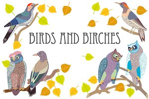 Birds and Birches