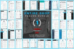 Entire Shop Resume/CV Mega Bundle