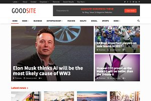 GoodSite - Flexible Magazine Theme