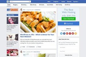 MyShare - Creative Blog Theme