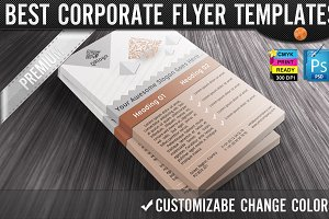 QR Codes 3D Pyramids Business Flyers