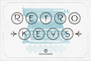 Retro Nova TW Typeface