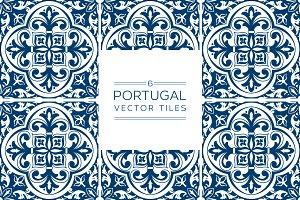 Indigo Portuguese Tiles