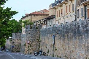 San Marino town view