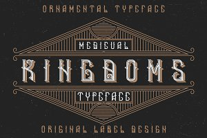 Medieval Kingdoms label font