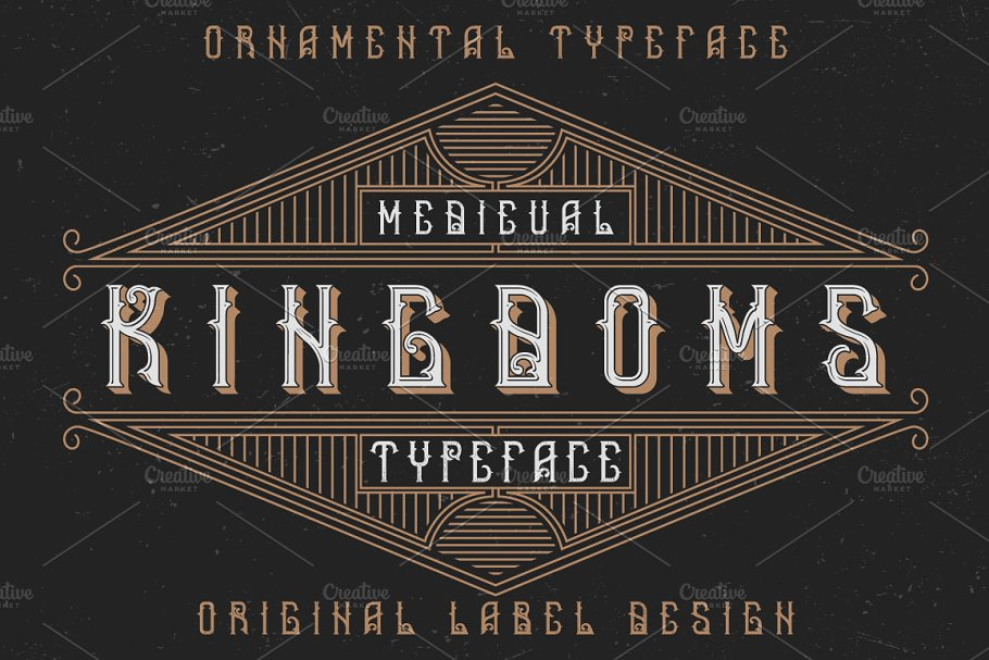 Rulers cyrillic letters + numbers ~ Symbol Fonts ~ Creative Market