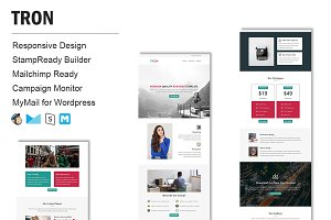 Tron - Responsive Email Template