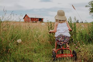 Farm Girl in the Country
