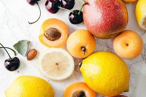 Summer fruits assorted
