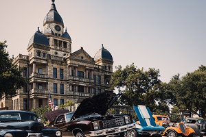 Car Show in Denton, TX