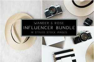 INFLUENCER Styled Stock Images