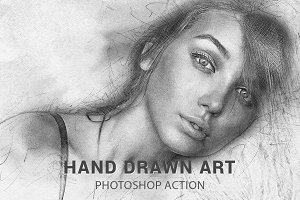 Hand Drawn Art Photoshop Action