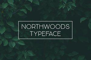 Northwoods Typeface