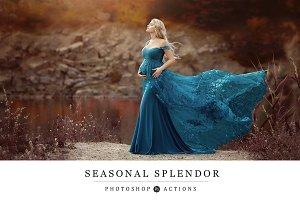 Seasonal Splendor Action Collection