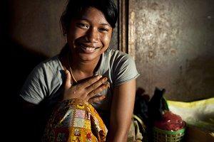 Portrait of Combodian