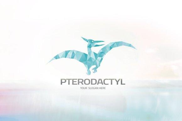 pterodactyl logo logo templates creative market