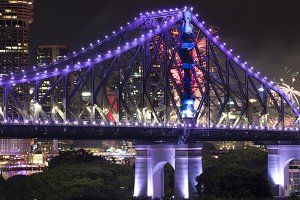 Story Bridge in Brisbane City
