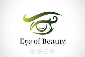 Eye of Beauty Logo Template