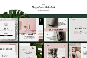 Lifestyle Social Media Kit • Mïa