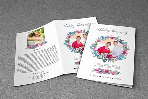 Wedding Photography Brochure Bi-fold