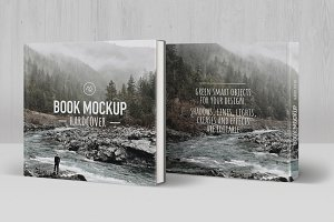 Book Mockup Hardcover (Square)