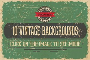 Vintage Vector Background Textures
