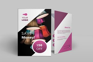 Light Shop Bi-Fold Brochure