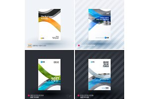 Design of business vector template, brochure, abstract annual report, cover modern layout,