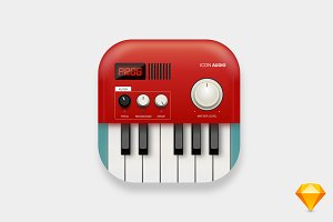 Ui Icons Piano Lead