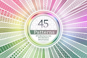 45 Unique Patterns