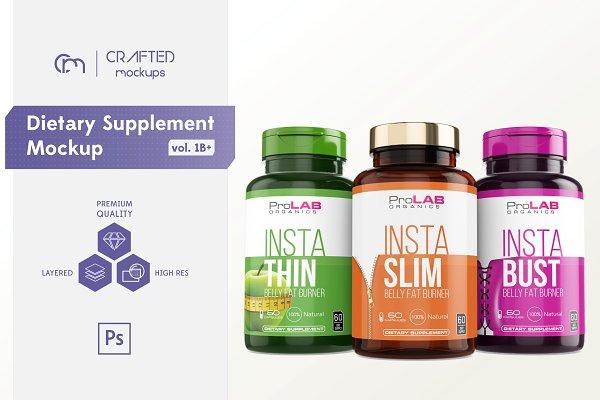 Dietary Supplement Mockup v. 1B Plu…