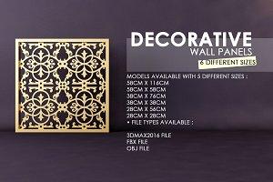 Decorative 3D Panel-Screen