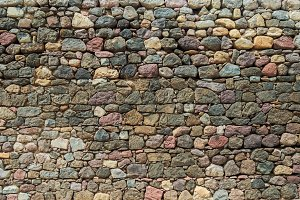 old rock wall for background