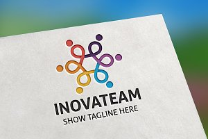 Inovateam Logo Template