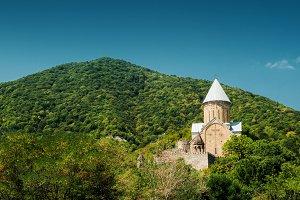 Ananuri Castle with Church, Georgia