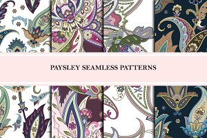 Seamless Paisley Patterns