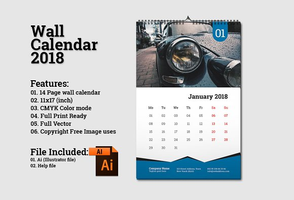 Wall Calendar Design Template Images Template Design Free Download
