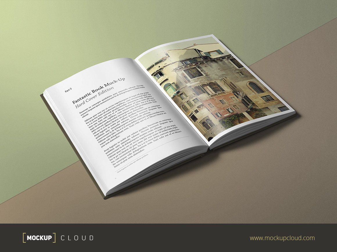 Creative Book Cover Up : Book mock up hard cover edition product mockups