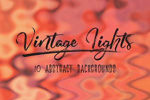 Vintage Lights: Abstract Backgrounds