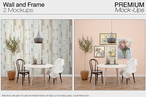 Wall & Frames Mockups Pack