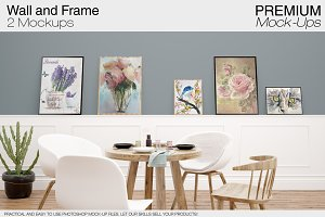 Wall & Frames Mockups