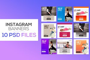 BUNDLE: 10 Instagram Posts