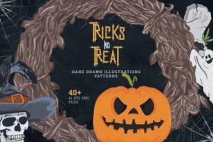 Tricks no Treat - Graphic set