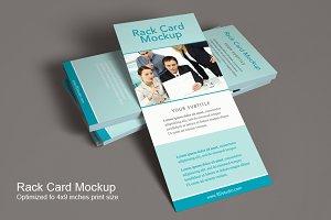 Rack Card Mockup