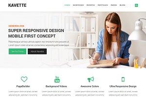 Kavette MultiPurpose Joomla Template