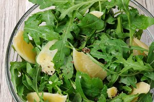 arugula (rocket)  salad