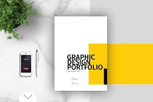 Graphic design portfolio template brochure templates creative graphic design portfolio template pronofoot35fo Image collections